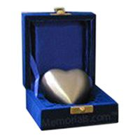 Pewter Heart Pet Keepsake Urn