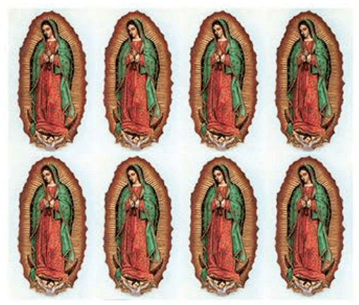 Our Lady Of The Guadalupe Prayer Cards