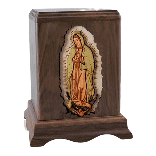 Lady of Guadalupe Cremation Urn