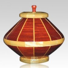 Red River Large Wood Urn