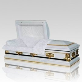 Last Supper Steel Casket