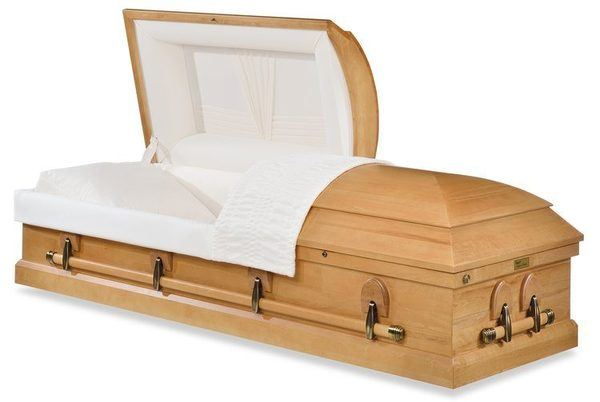 Lenox Earthtone Wood Casket