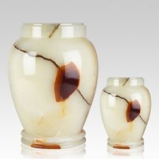 Light Green Onyx Cremation Urns