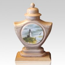 Guiding Light Ceramic Cremation Urn