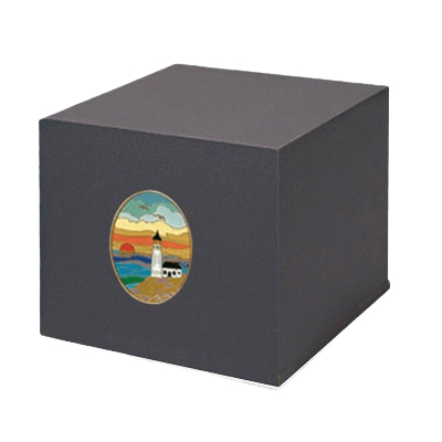 Swedish Lighthouse Cremation Urn
