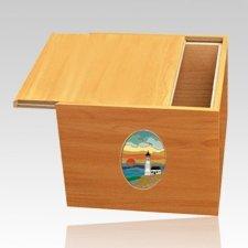Norwegian Lighthouse Cremation Urn