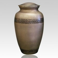 Link Brass Cremation Urn