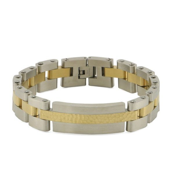 Linked Gold Cremation Bracelet