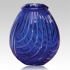 Linnum Glass Cremation Urn