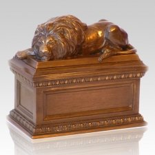 Lions Den Pet Cremation Urn