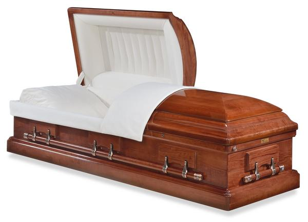 London Wood Casket