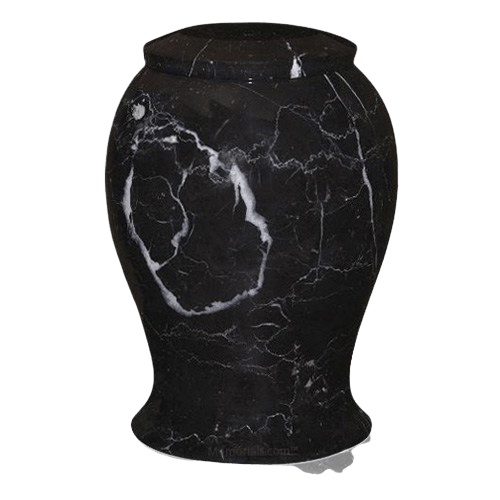 Lotus Large Marble Cremation Urn