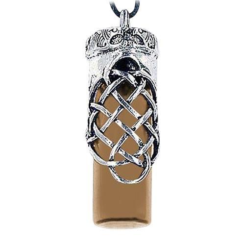 Love Brown Cremation Urn Necklace