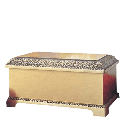 Luxor Polished Bronze Cremation Urn