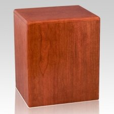 Dallas Wood Cremation Urn