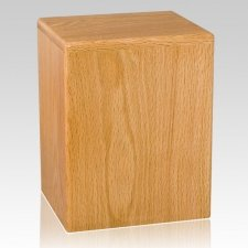 Houston Wood Cremation Urn