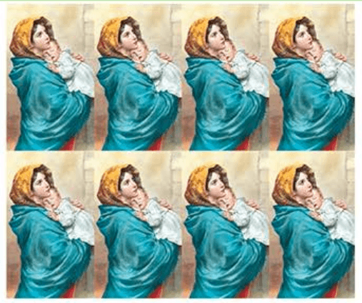 Mother Madonna Prayer Cards