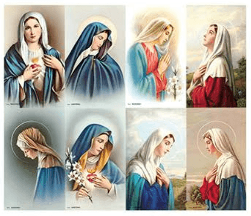 Madonna Prayer Cards