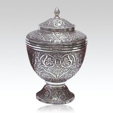 Silver Star Keepsake Urn