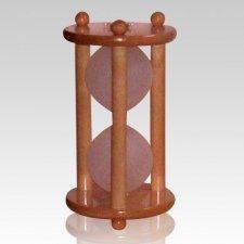 Hourglass Maple Keepsake Urn