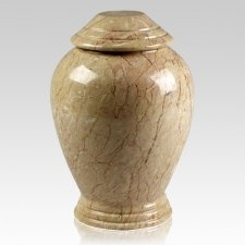 Botticino Classica Marble Cremation Urn