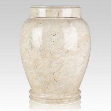 Botticino Marble Cremation Urn