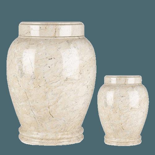 Botticino Marble Cremation Urns