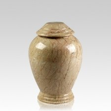 Botticino Classica Marble Medium Cremation Urn