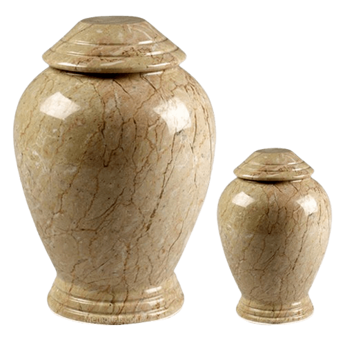 Botticino Classica Marble Cremation Urns
