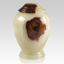 Light Green Classica Onyx Cremation Urn