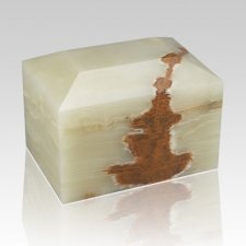 Sky Square Small Onyx Cremation Urn