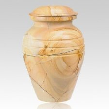 Teakwood Classic Marble Cremation Urn