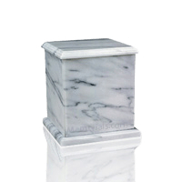 Eversquare White Keepsake Urn