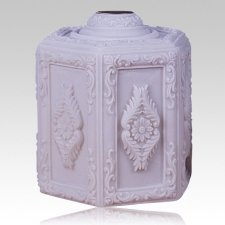 Hexagon Funeral Cremation Urn