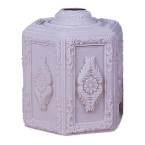 Hexagon Funeral Cremation Urn