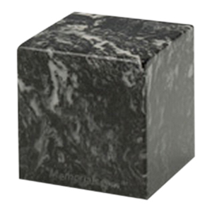 Ebony Cube Pet Cremation Urns