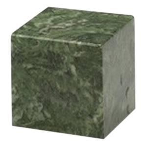 Emerald Cube Pet Cremation Urns
