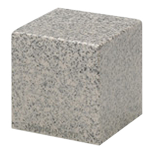Mist Gray Cube Pet Cremation Urns