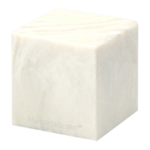 Pearl Cube Pet Cremation Urns