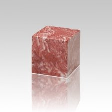 Rose Cube Pet Cremation Urns