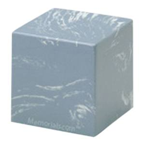 Wedgewood Cube Pet Cremation Urns