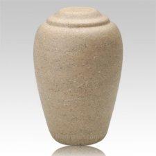 Grecian Catalina Stone Cremation Urn II
