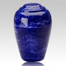Cobalt Pet Cremation Urn