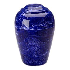 Cobalt Pet Cremation Urn