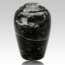 Ebony Pet Cremation Urn