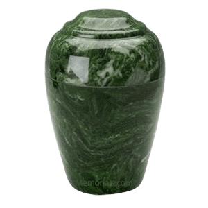 Grecian Emerald Marble Cremation Urns
