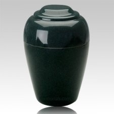 Grecian Sea Holly Green Granite Cremation Urns