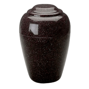 Grecian Kodiak Brown Granite Cremation Urn II