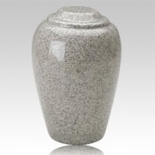 Grecian Mist Gray Granite Cremation Urns