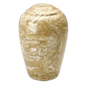 Grecian Neptune Marble Cremation Urn II